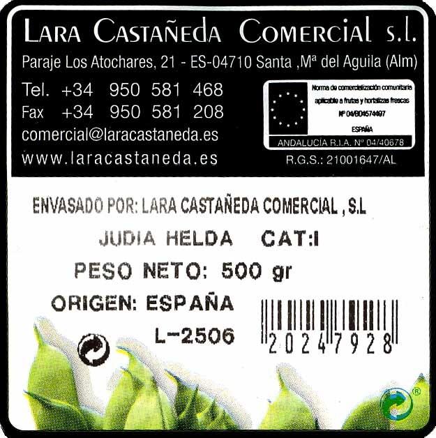 Judías verdes planas - Ingredients