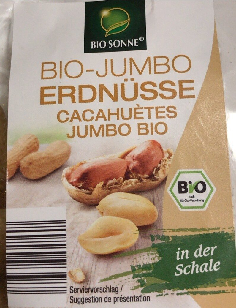 Cacahuetes jumbo bio - Produit - de