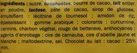 Big Hit - Cacahuetes Chocolatées - Ingrédients