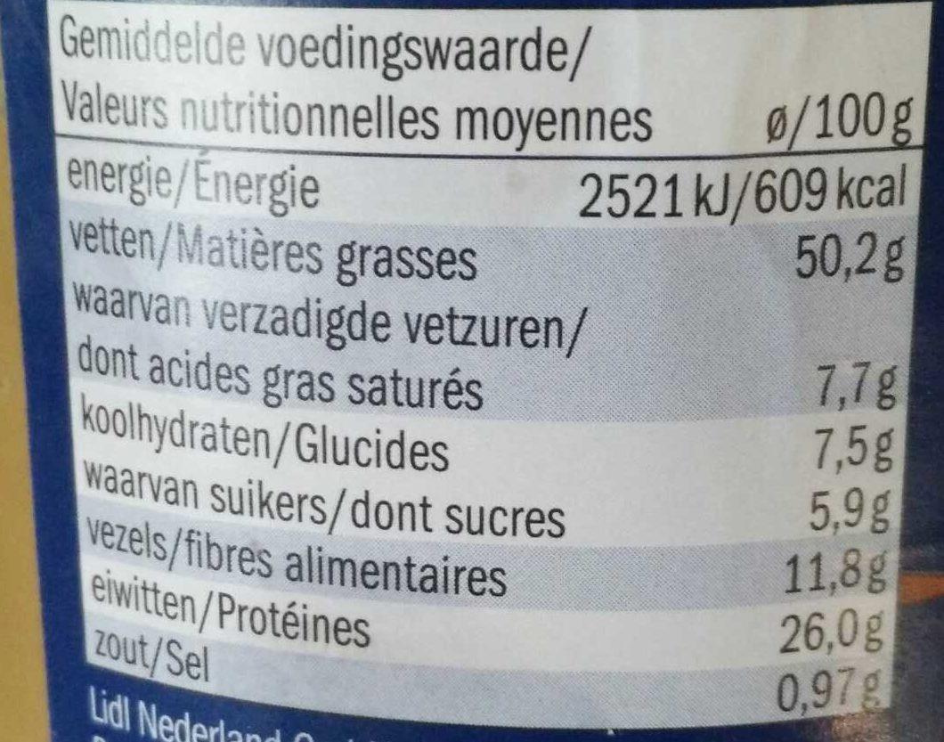 Crunchy Peanut Butter - Informations nutritionnelles