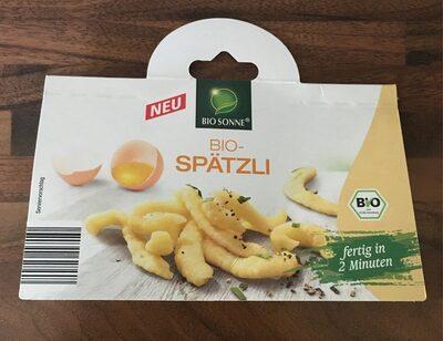 Bio SPÄTZLE - Product - fr