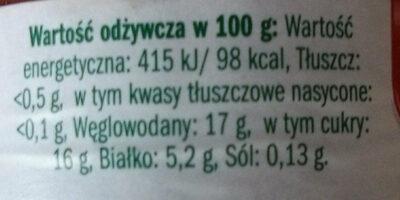 Koncentrat pomidorowy 30% - Voedigswaarden