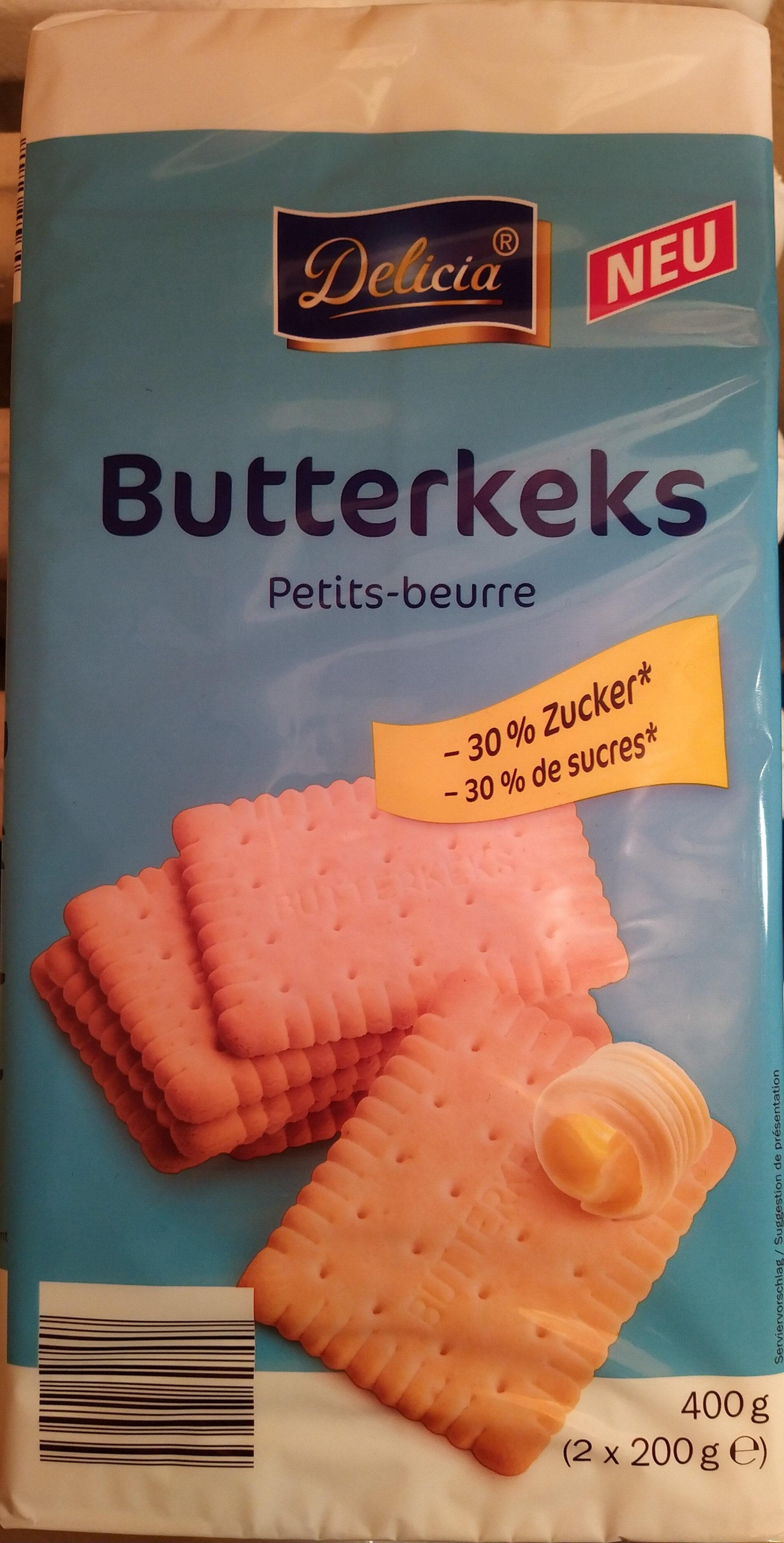 Butterkeks Petit-beurre (-30% Zucker) - Produkt - de