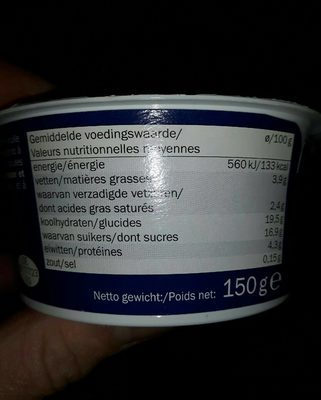 Joghurt, Schoko Muffin - Nutrition facts