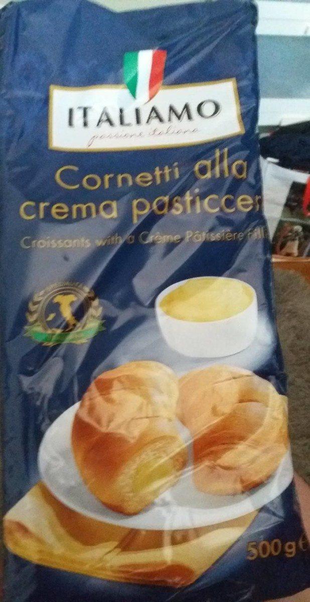 Cornetti alla crema pasticcera - Produit - fr