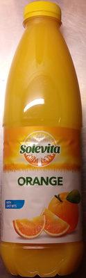 Solevita orange pur fruit pressé avec pulpe - Product - fr
