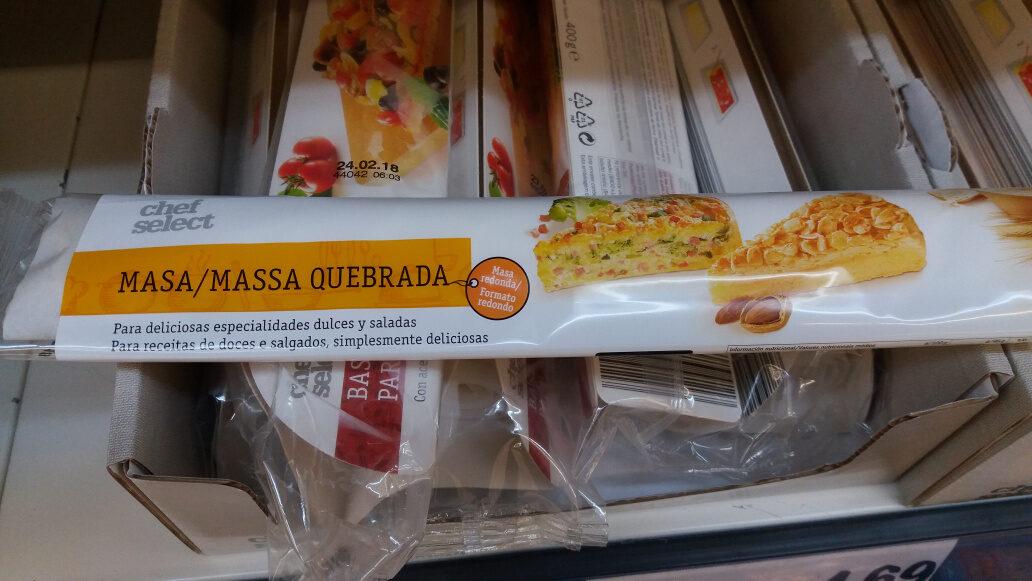 Masa Quebrada - Produto - pt