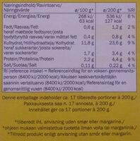 Instant Mashed Potato - Ravintosisältö - fi