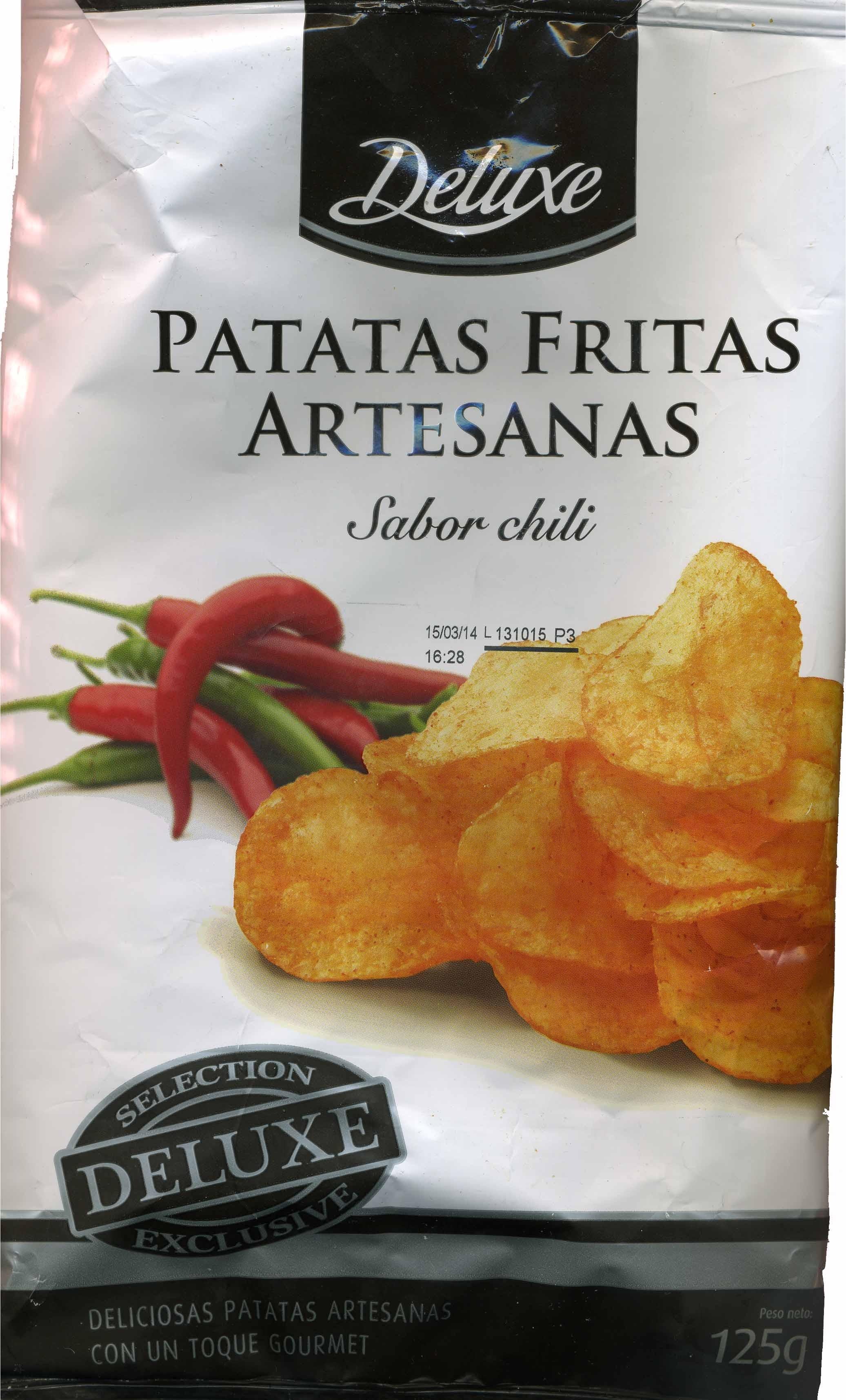 Patatas fritas artesanas sabor chili - Product - es