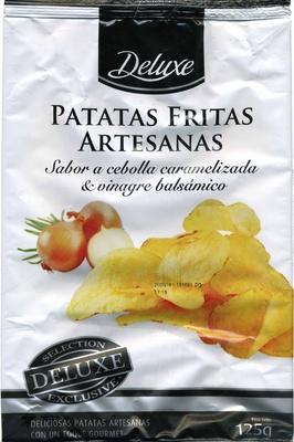 Patatas fritas artesanas Sabor a cebolla caramelizada & vinagre balsámico - Producto - es