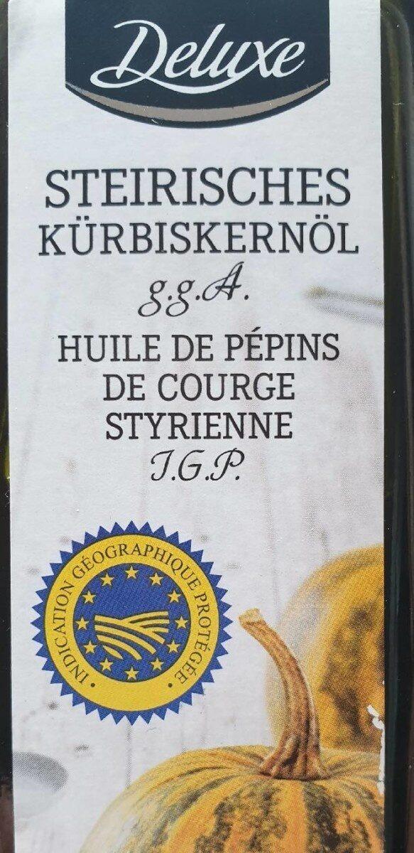 Huile de pépins de courge styrienne - Prodotto - fr