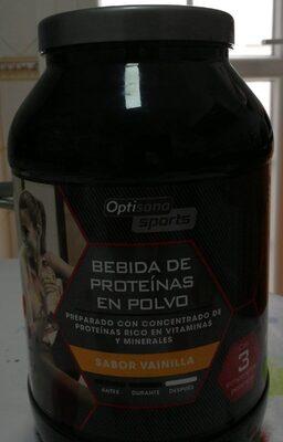 Bebida proteínas en polvo
