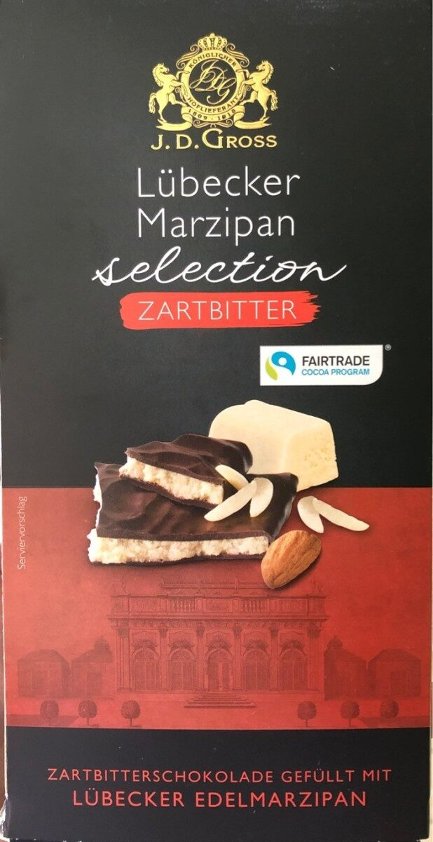 Marzipan selection Dark Chocolate - Produit - en