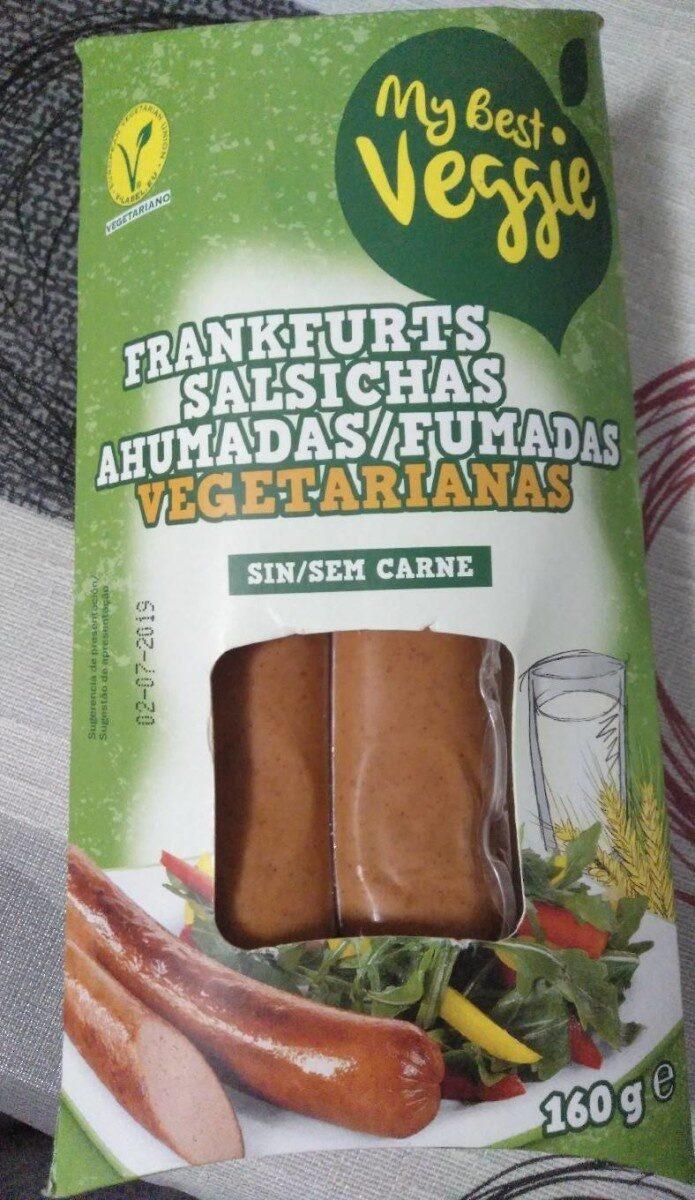 Preparado vegetariano tipo frankfurt ahumado - Product - es