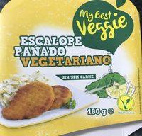 Escalope panado vegetariano - Produit - fr