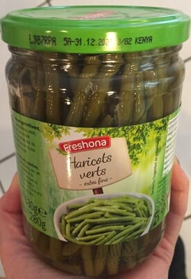 Haricots verts extra fins - Prodotto - fr