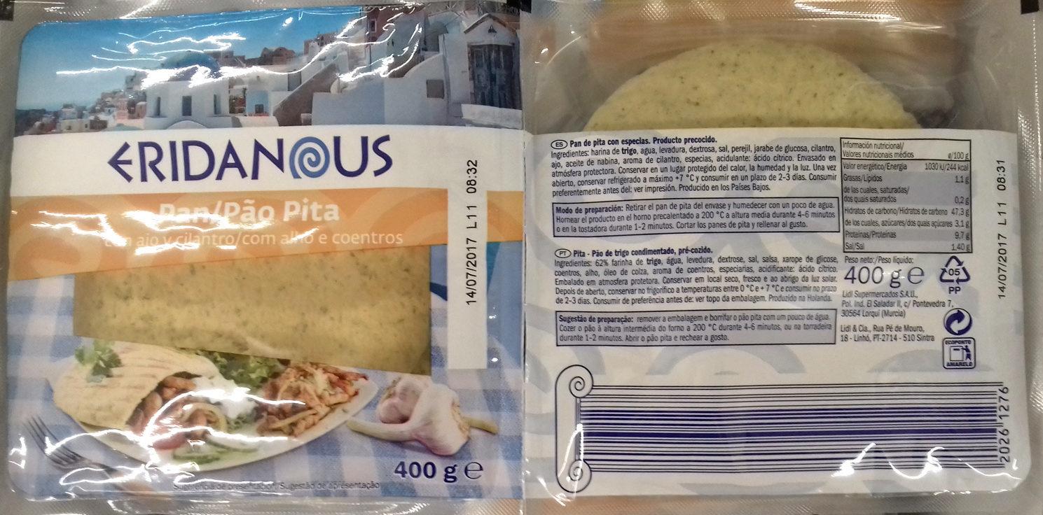 Petits pains pita style grec - Producto - es