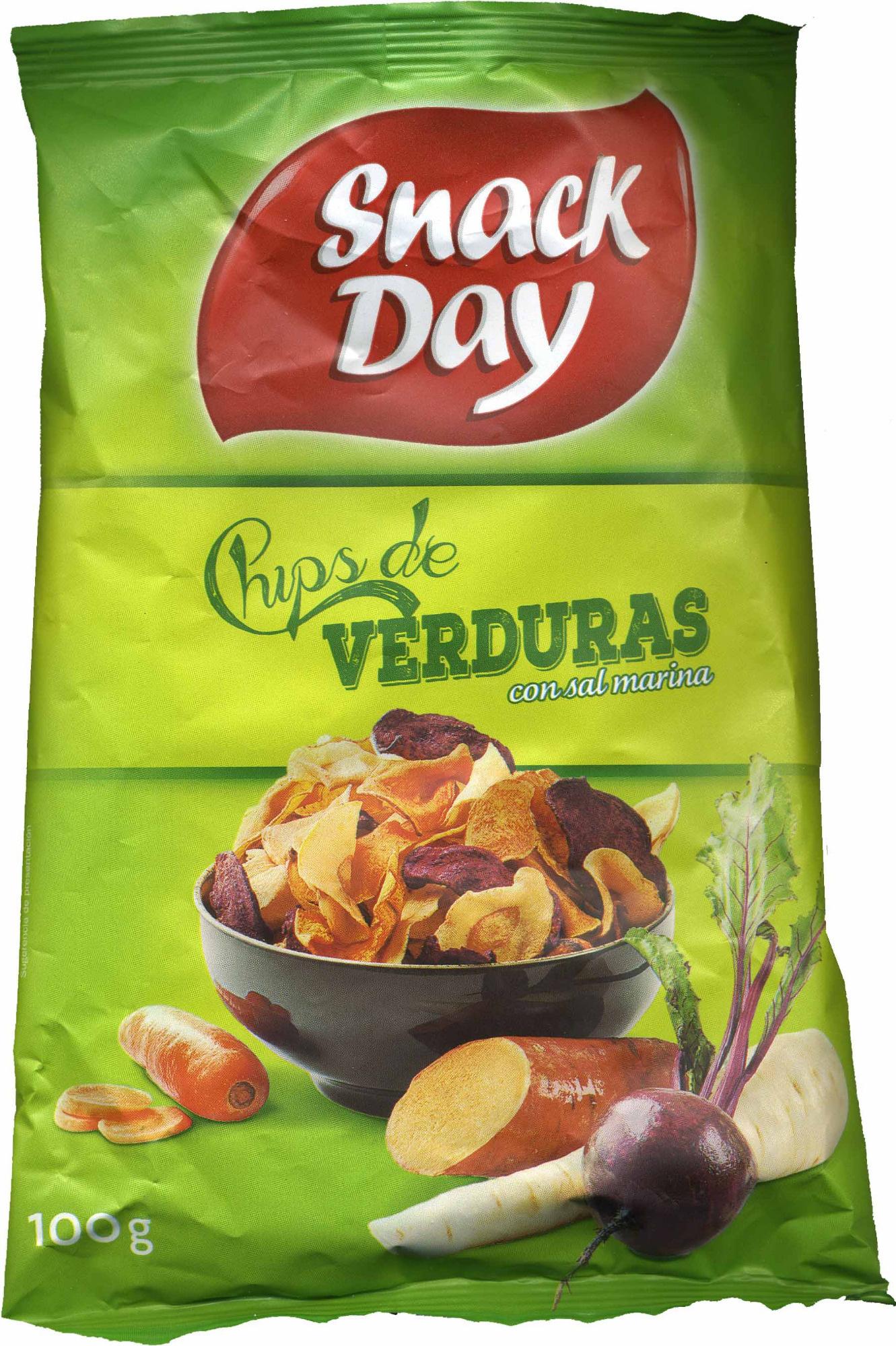 Chips de verduras - Producto - es