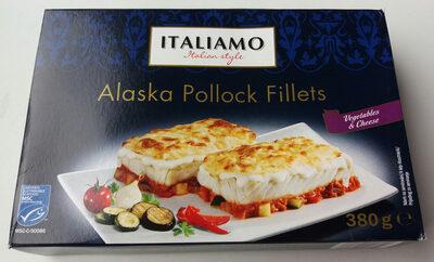 Alaszkai tőkehalfilé, zöldséges - sajtos - Produit - hu
