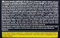 Alaszkai tőkehalfilé, zöldséges - sajtos - Ingrédients - hu