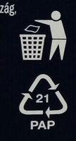 Alaszkai tőkehalfilé, zöldséges - sajtos - Instruction de recyclage et/ou informations d'emballage - hu