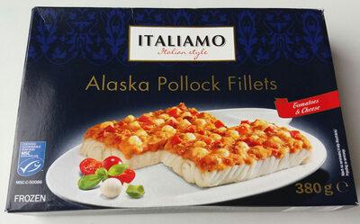 Alaszkai tőkehalfilé, paradicsomos - sajtos - Produit - hu