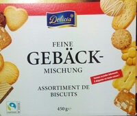 Feine Gebäck-Mischung - Produkt - de