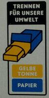 Feine Gebäck-Mischung - Wiederverwertungsanweisungen und/oder Verpackungsinformationen - de