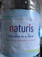 Naturis agua de Requena - Producto