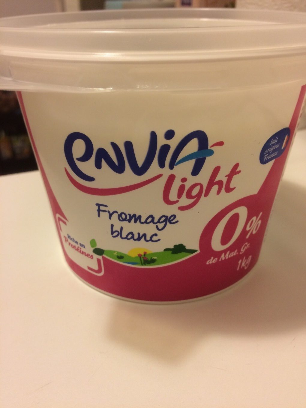 Fromage blanc 0% - Informations nutritionnelles