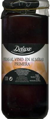 """Peras al vino en almíbar """"Deluxe"""" - Producto"""