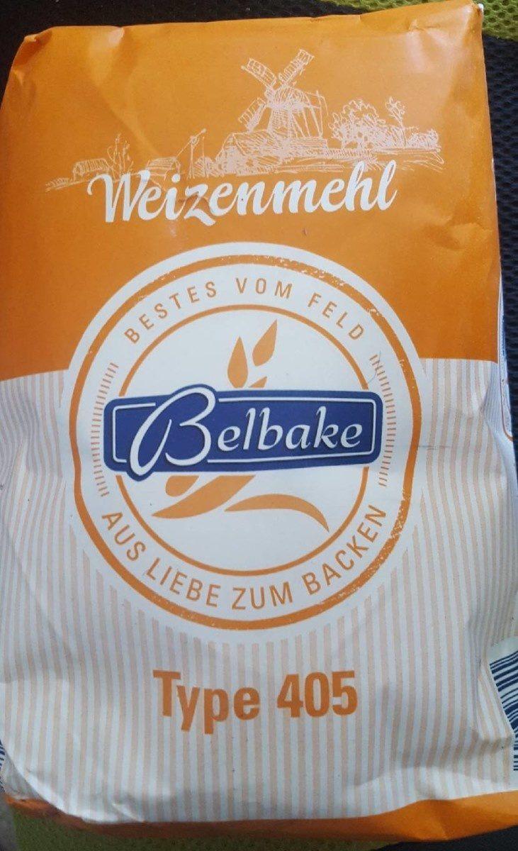 Farine Belbake Weizenmehl Type 405 2 KG - Produit - fr