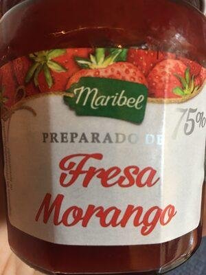 Confiture de fraises - 75 % de fruits - Producto