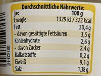 Brotaufstrich Eiersalat - Informations nutritionnelles - de