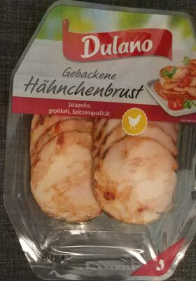 Gebackene hähnchenbrust - Jalapeño, gepökelt - Producto