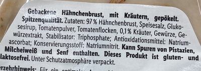 Gebackene Hähnchenbrust Kräuter - Ingredientes - de