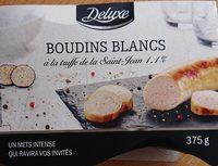 Boudins Blancs à la Truffe de la Saint-Jean - Produit - fr
