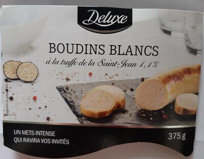 Boudins blancs à la truffe 1,1% - Produit - fr
