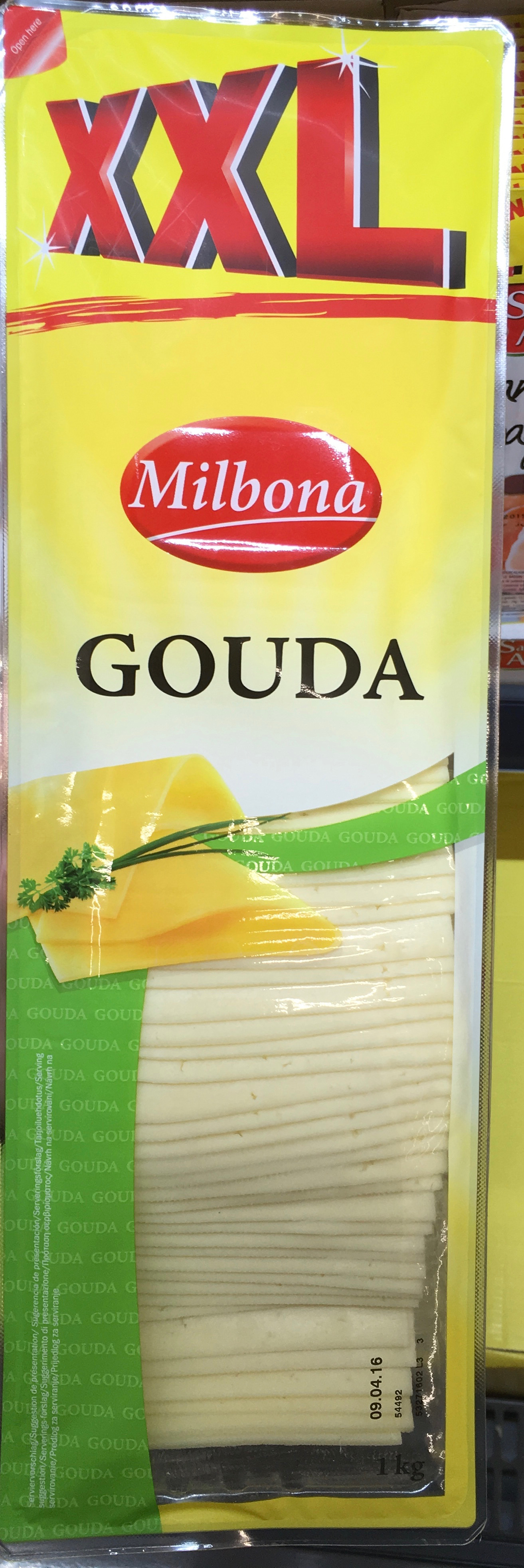 Gouda (29% MG) - Product - fr