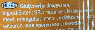 Spaghetti gluten free - Ingrediënten - nl