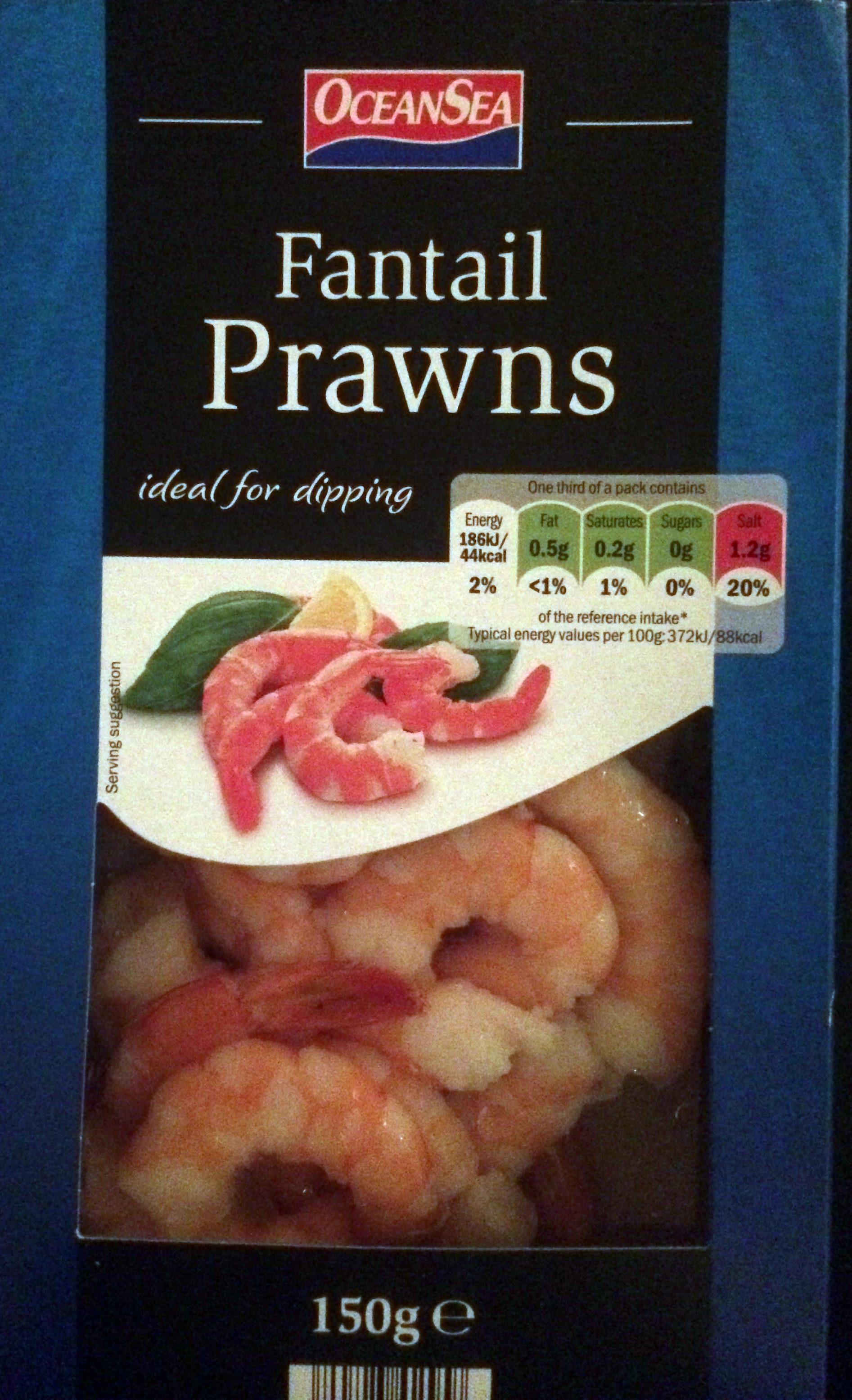 Jumbo king prawns - Product - en