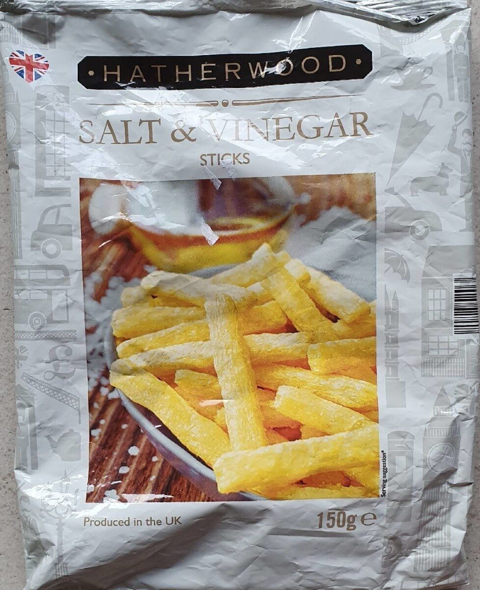 Hatherwood salt &  vinegar sticks - Product - fr