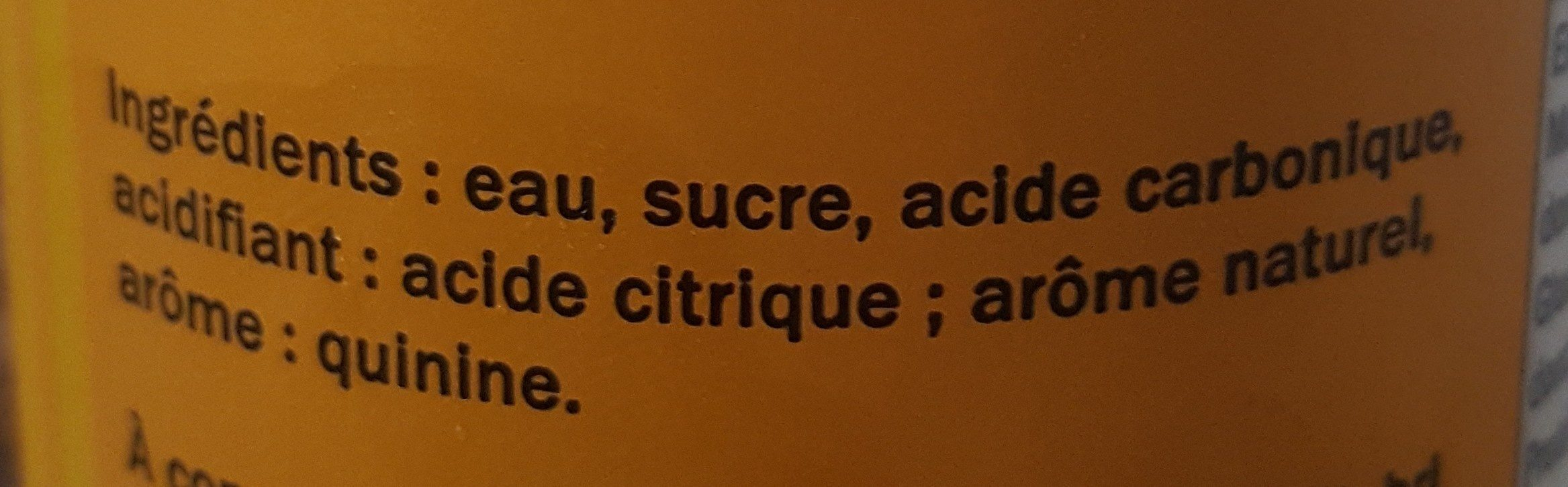 freeway tonic - Ingrédients - fr