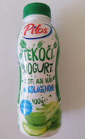 Tekoči jogurt z žitnim pripravkom in aloe vero - Prodotto - sl