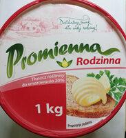 Tłuszcz roślinny do smarowania 20% - Produkt