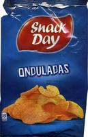 "Patatas fritas onduladas ""SnackDay"" - Producto"