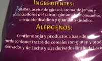 Chips ondulée au jambon - Ingredients