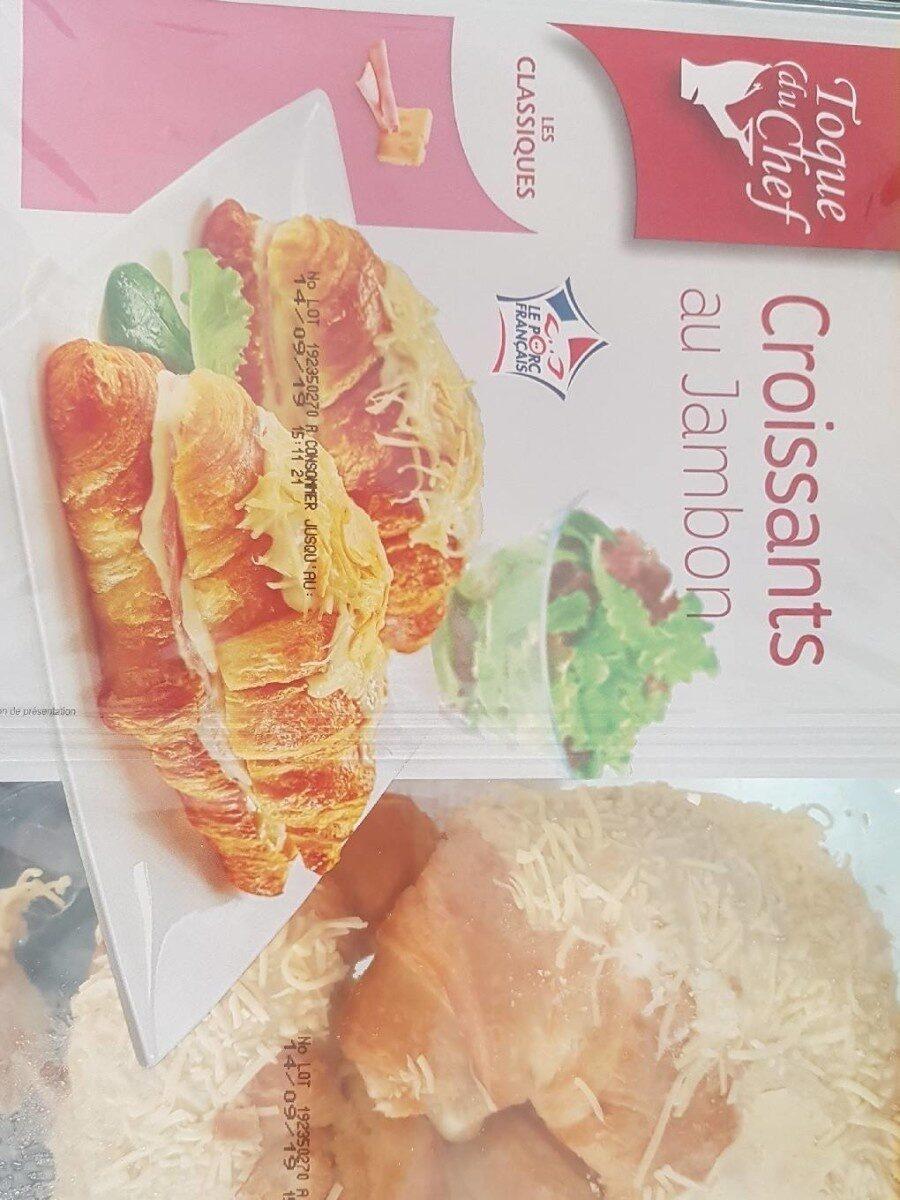 Croissants au jambon - Product