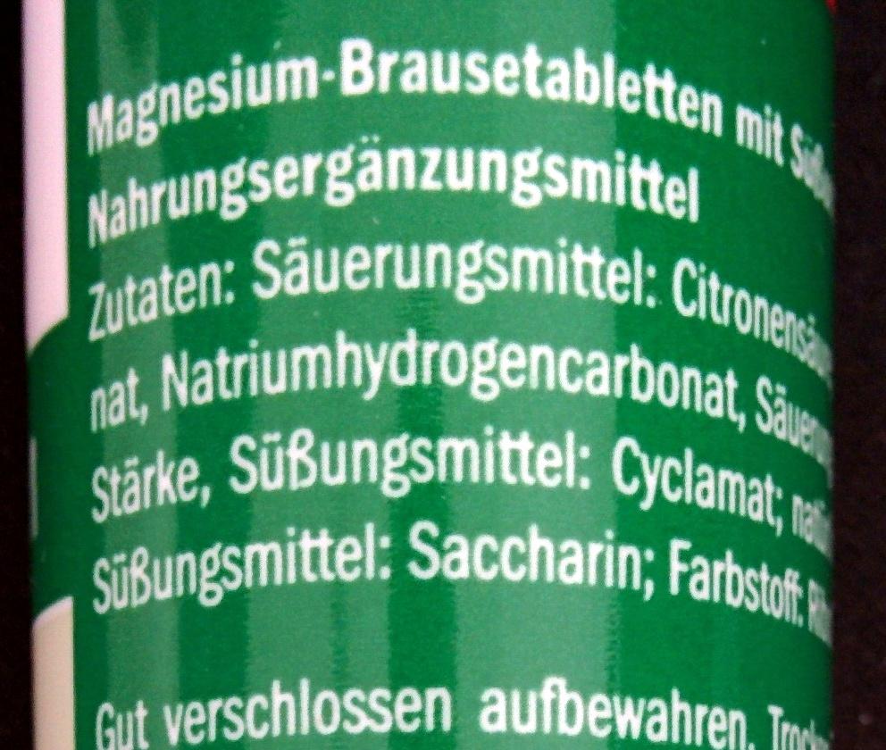 Magnesium - Ingredients