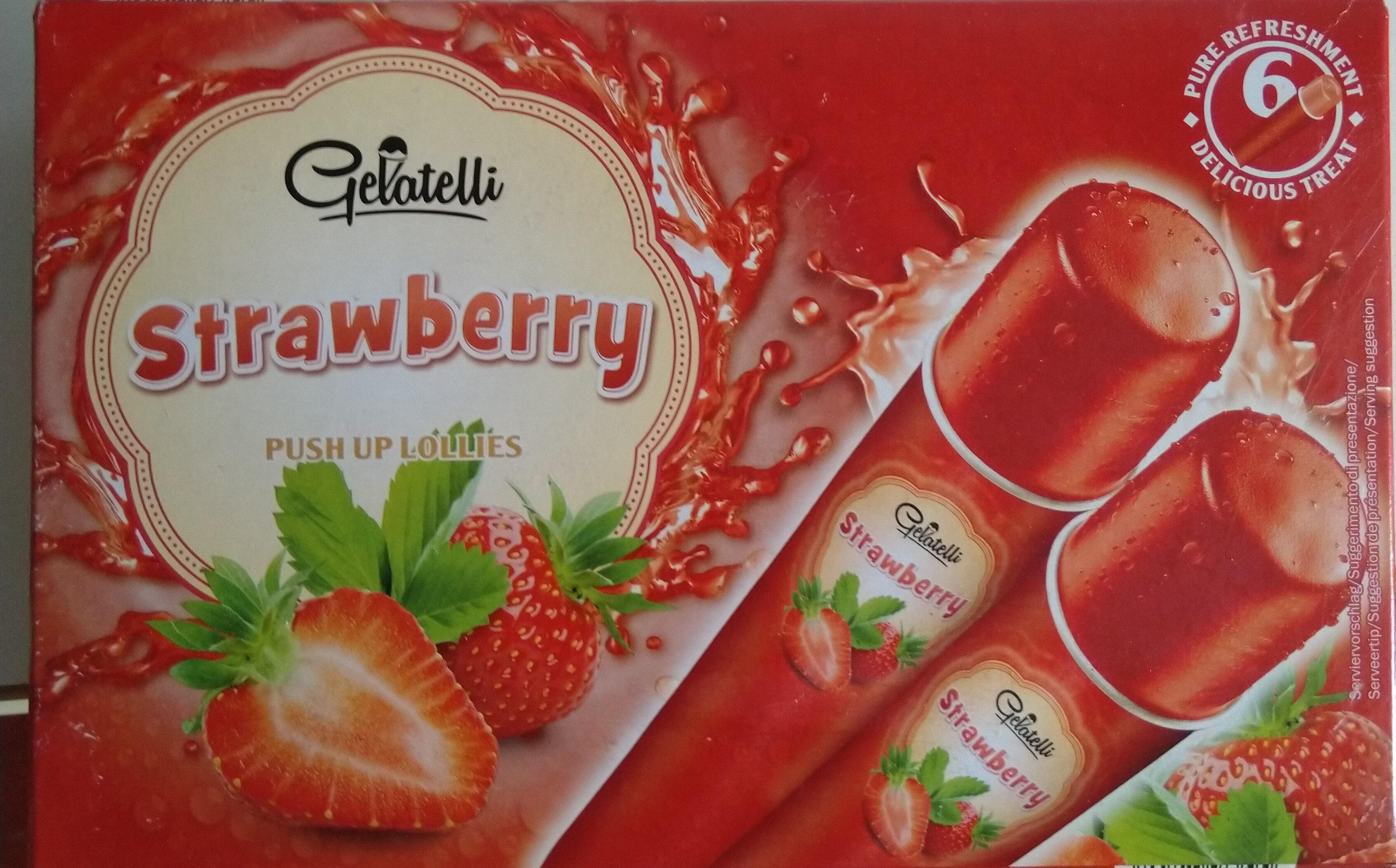 Strawberry Push Up Lollies - Produit - fr